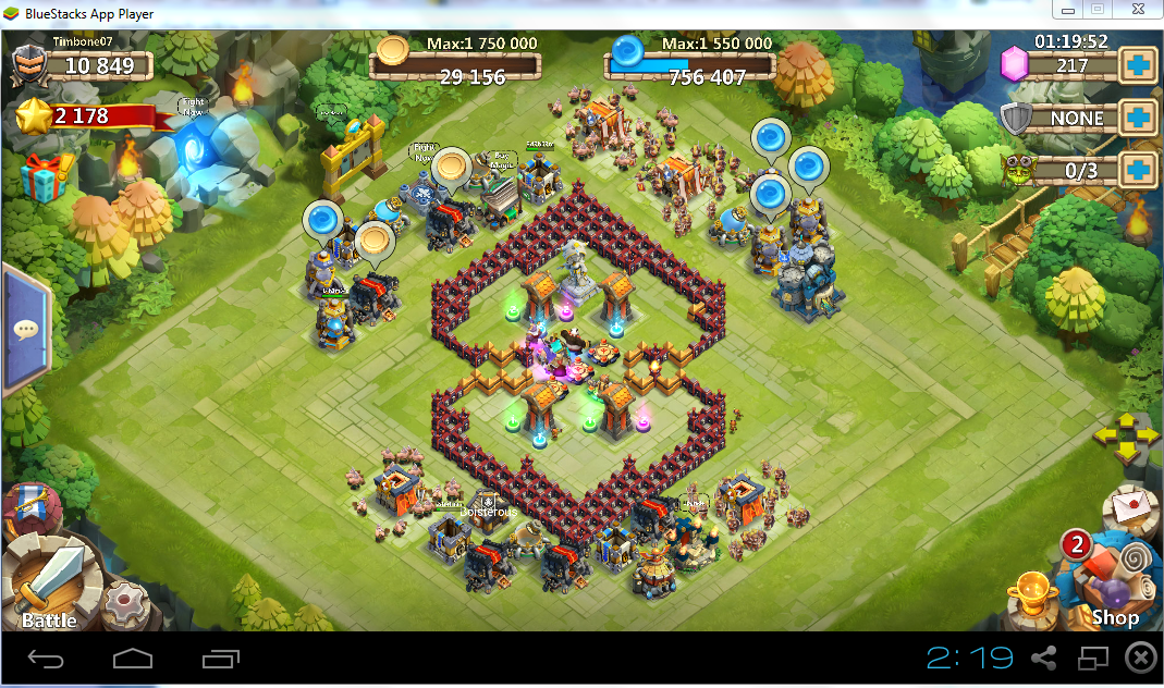 Base designs castle clash wiki
