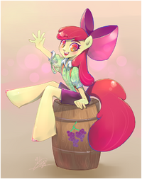 Apple Bloom anthro ID WeLoveFine