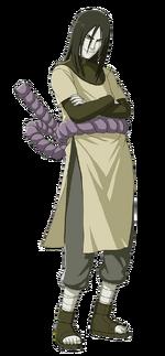 Orochimaru (Renderização)