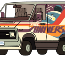 Camioneta de Greg