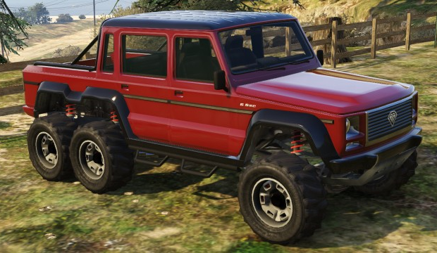 Gta Dubsta vs Insurgent a Dubsta 6x6 in Gta v