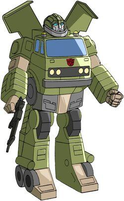 Bulkhead g1 robot mode by tf the lost seasonsBulkhead Transformers G1