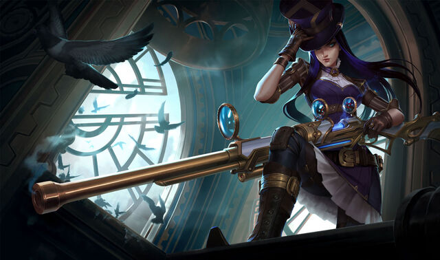 THE BOTTOM LANE'S FIRST CHAMPION PICK OF THE WEEK -  CAITLYN