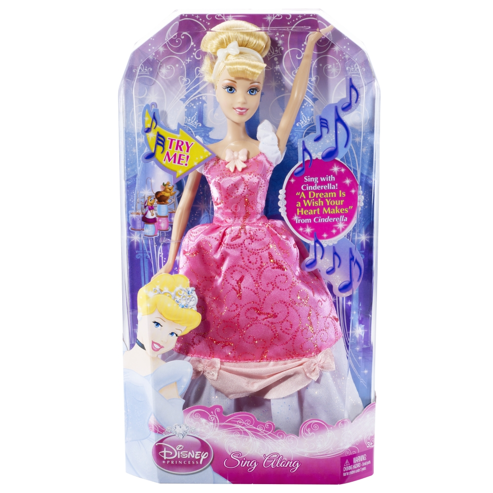 Disney Princess Cinderella Singing Doll And Costume Set: Sing Along Cinderella Doll.jpg