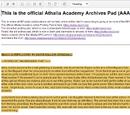 Athalia Academy Archive Pad