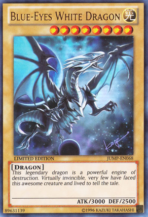 Blue-Eyes White Dragon - Yu-Gi-Oh!