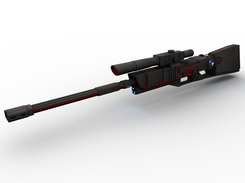 Image Futuristic Sniper Rifle By Mobiustwo d4a1k1ypng