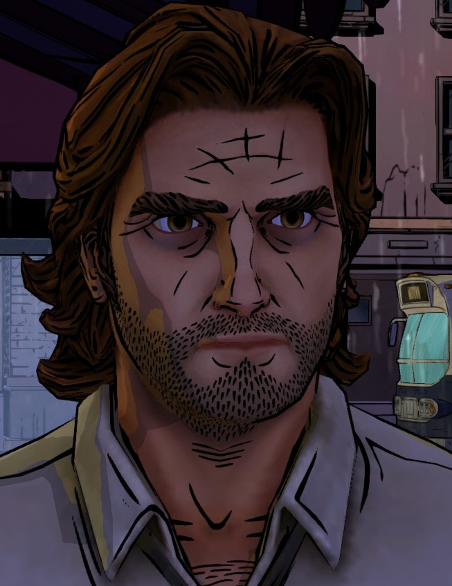 Bigby Wolf (Video Game)  Fables Wiki  Wikia - Cinderella Hairstyle