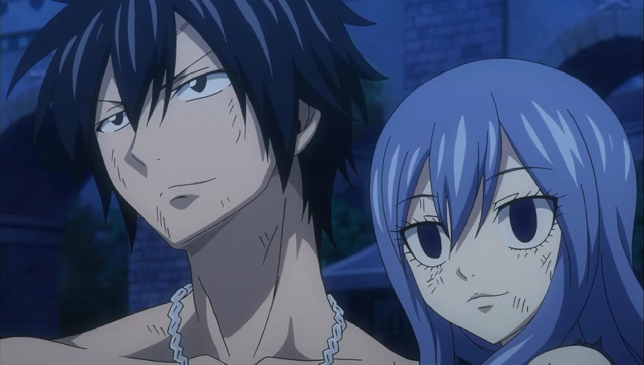 Image gray and juvia happy to see sting and lector 39 s - Juvia fairy tail ...