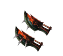 Red Tigrex Claws (MH4)