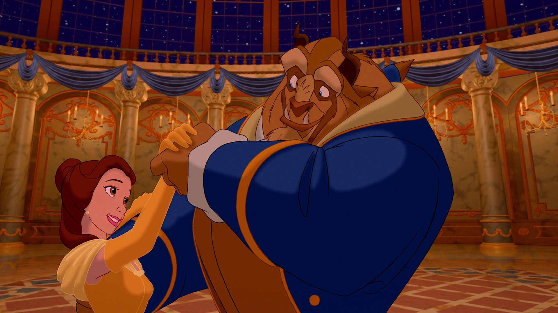an overview of the veiled beauty in the animated movie beauty and the beast by walt disney