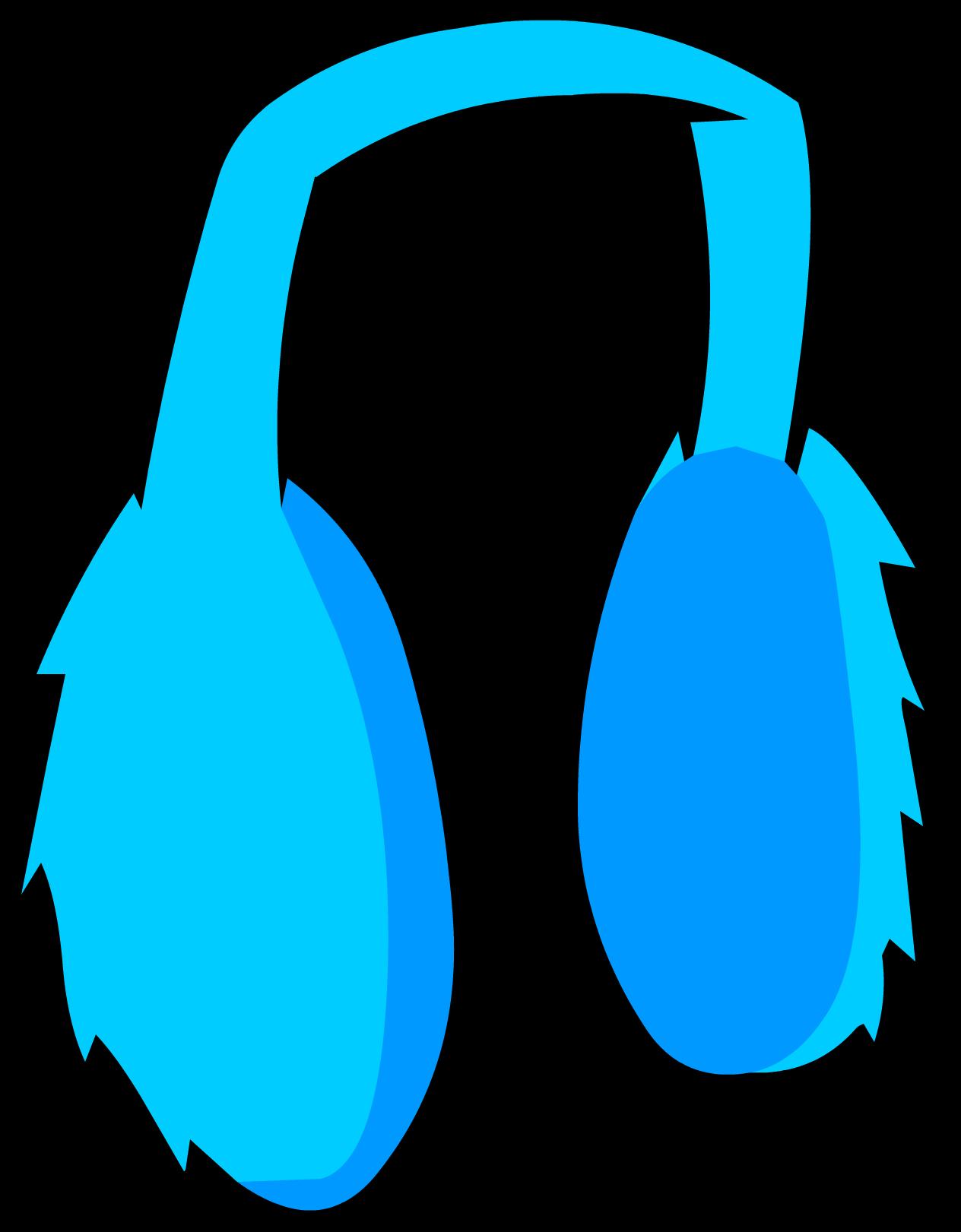 Blue Earmuffs Club Penguin Wiki Editable