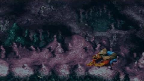 Donkey Kong Country 3 - Squitter en el agua (Bug destructivo)