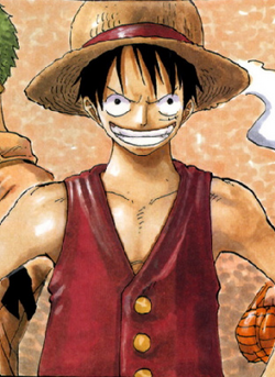 Monkey D. Luffy Manga Pre Timeskip Infobox