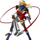 Noel Vermillion (Story Mode Artwork, Chronophantasma, Pre Battle).png