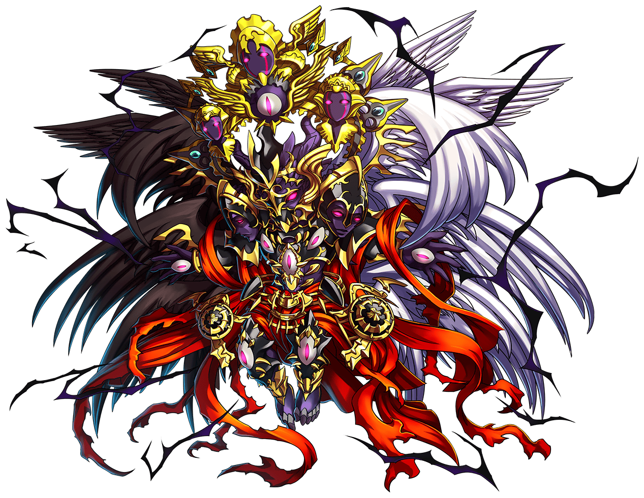 kajah azael and melchio somehow related bravefrontier