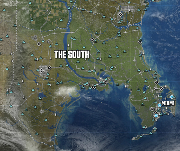 The South The Crew Wiki