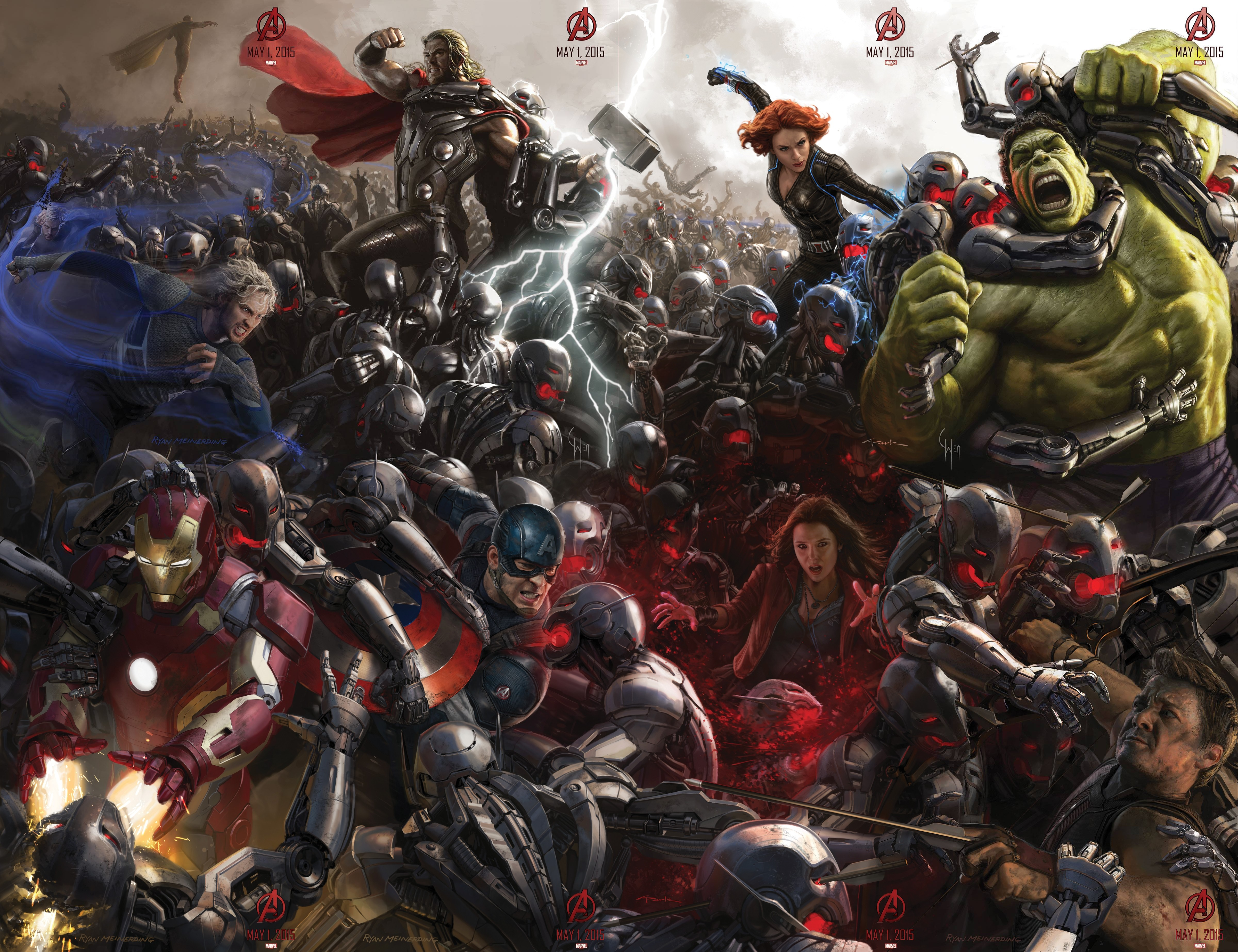 Trailer  Avengers : Age of Ultron