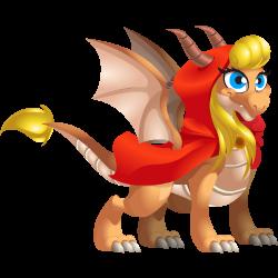 Dragón Caperucita Roja