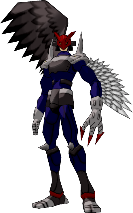 Image - Ravemon dwds.png - Digimon Wiki: Go on an