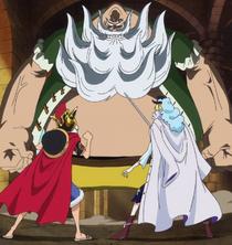 Luffy and Cavendish vs. Chinjao