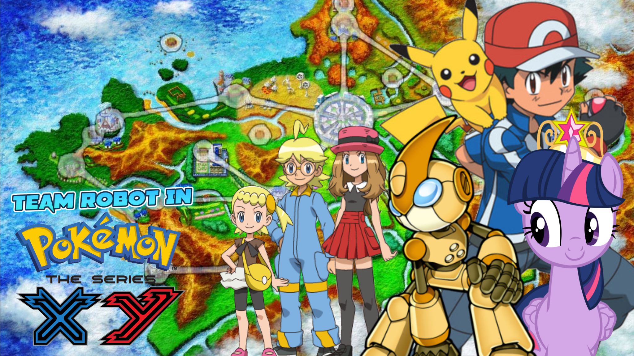 Thomas The Tank Engine Wall Stickers Team Robot In Pokemon Xy The Series Pooh S Adventures Wiki