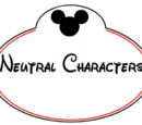 Neutral Characters