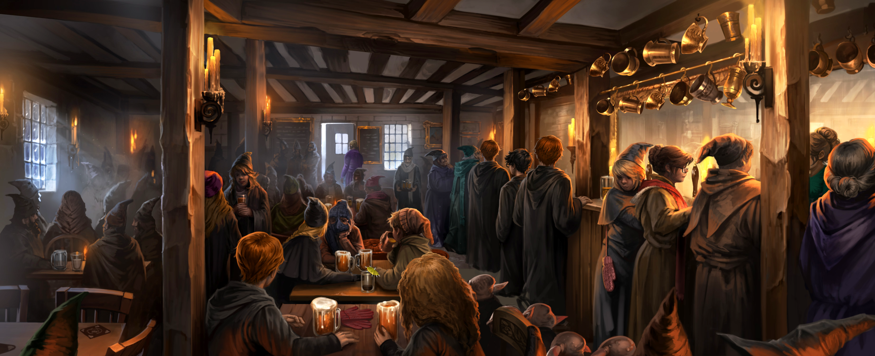 Les Trois Balais Three_Broomsticks_Inn_Pottermore