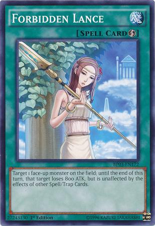 Card of the Week - Forbidden Lance ForbiddenLance-BP03-EN-C-1E