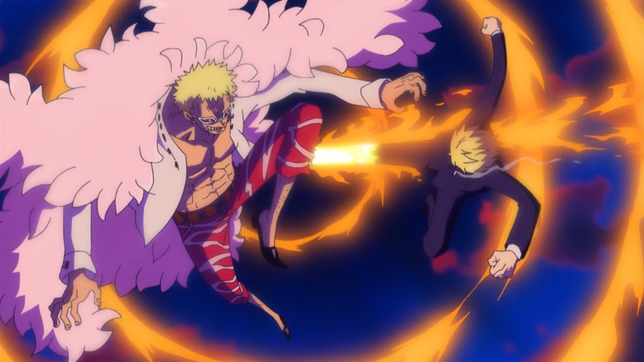 one piece episodio 660 subita Incubo! Quella tragica sera a Dressrosa streaming
