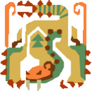 MH10th-Sand Barioth Icon.png