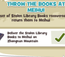 Throw the Books at Meihui