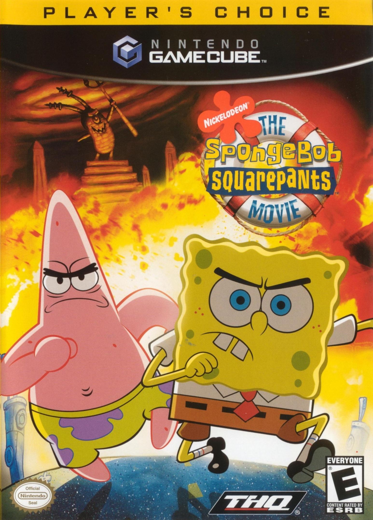 The SpongeBob SquarePants Movie (video game ...