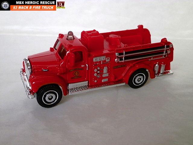 1963 Mack B Fire Truck Matchbox Cars Wiki