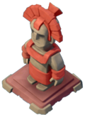 Statue Magma Guardian