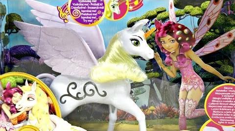 Musical Unicorn Onchao Koń Jednorożec Onchao - Mia and Me Mia i Ja - Mattel - BJR53 - Recenzja