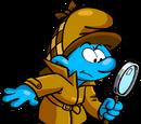 Detective Smurf