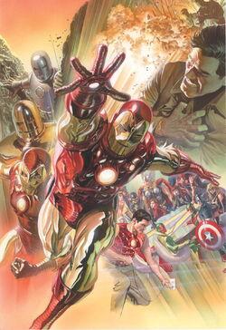 Superior Iron Man Vol 1 1 Marvel Comics 75th Anniversary Variant Textless