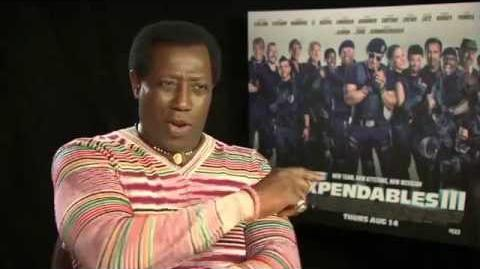 The Expendables 3 - Wesley Snipes Interview
