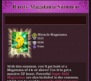 List of Magatamas acquired by Summoning
