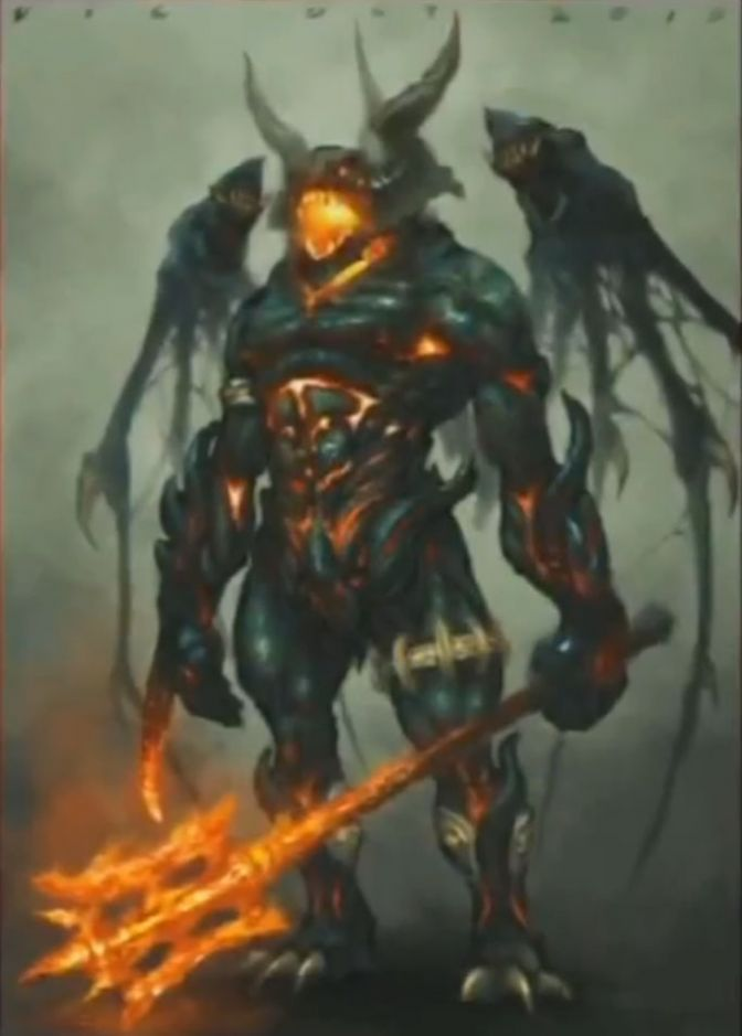 Diablo 3 Demon Concept Art