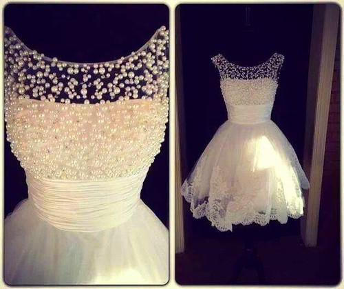 Pearl White Prom Dresses Image Pearl White Prom