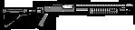 Armas/Weapons PumpShotgun-GTAV-HUD