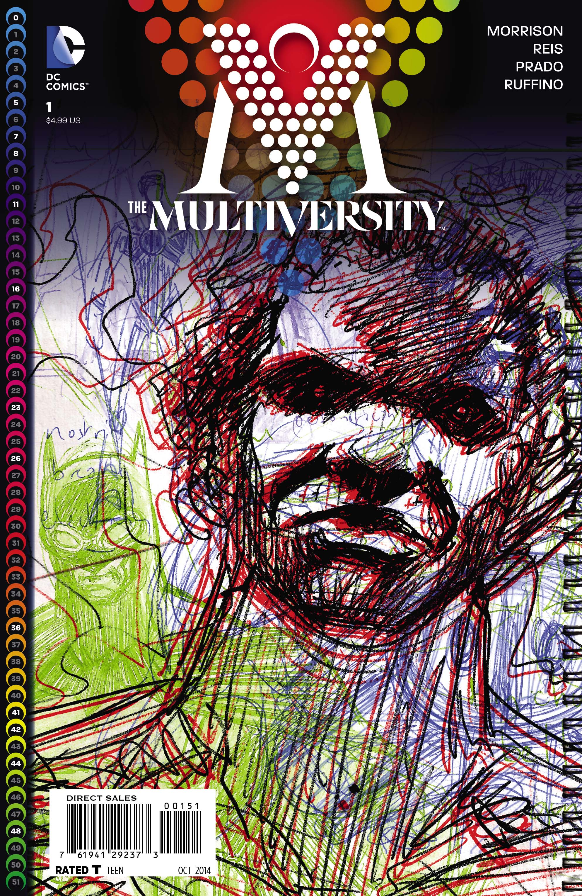 1 The Magician On Pinterest: The Multiversity Vol 1 1