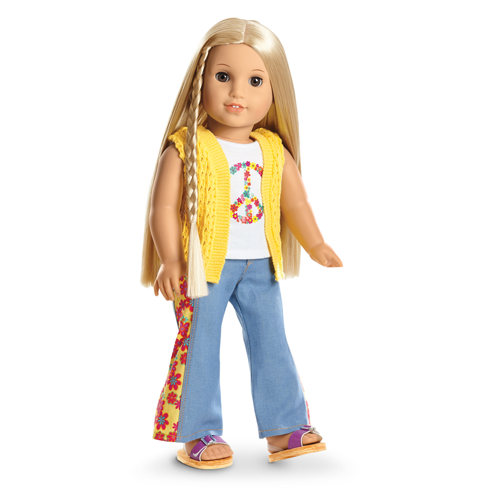 Review on Julie Albright American Girl Doll - YouTube  |American Doll Julie Albright