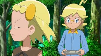 ¿¡Lem contra Clem!? ¡¡Un combate de hermanos con Meowstic!! ¡¡El trío rival aparece!! Pokemon XY
