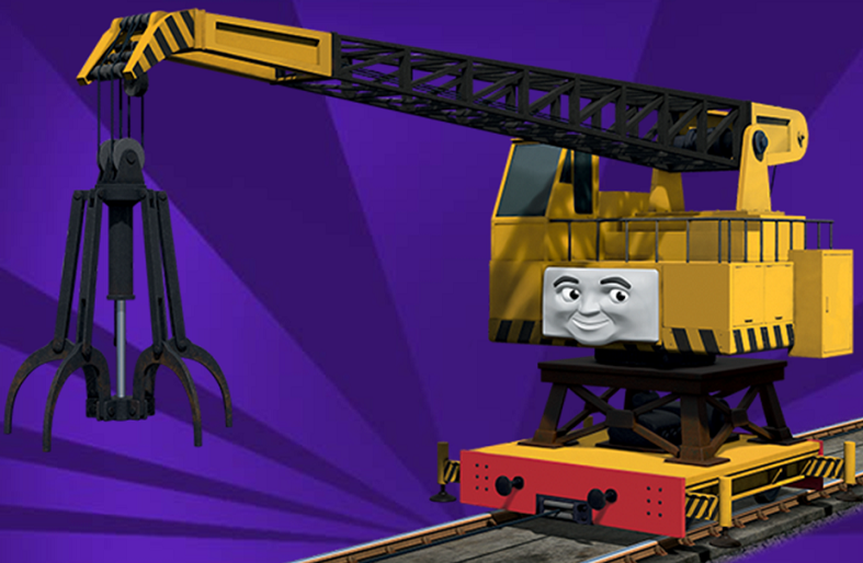 reg the scrapyard crane - photo #4