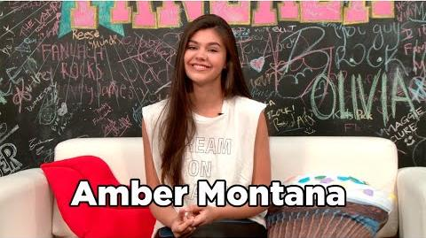 "Amber Montana Talks ""The Haunted Thundermans"""
