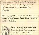 Professor's diary, 1