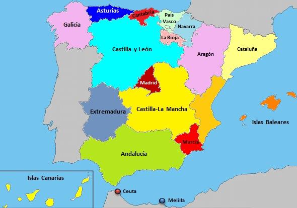 MAPA ESPAñA | bigPic